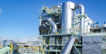 Industrial Waste Treatment Plants